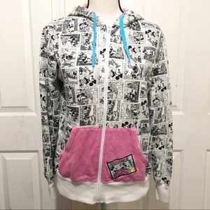 Disney Parks Black and White Mickey Mouse Jacket